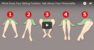 What Does Your Sitting Position Talk About Your Personality, female body language sitting down, Leg Posture Exposes Our State Of Mind, Women body language while sitting down