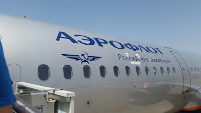 Avion Aeroflot Moscu