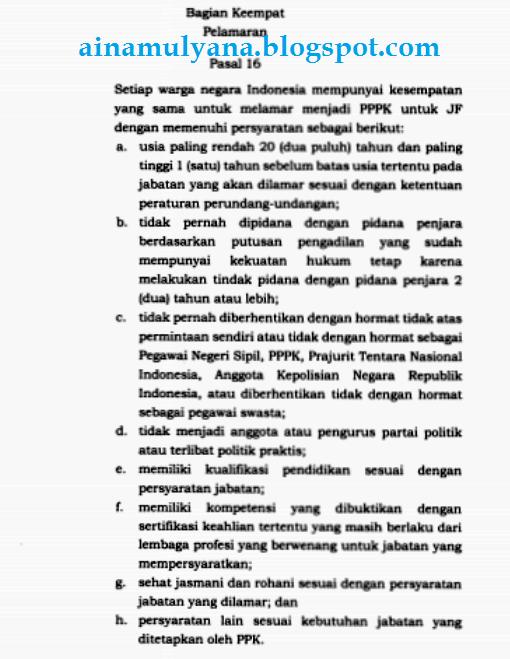 tentang Manajemen Pegawai Pemerintah dengan Perjanjian Kerja  PERATURAN PEMERINTAH - PP NOMOR 49 TAHUN 2018 TENTANG MANAJEMEN PPPK