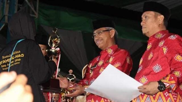 Juarai Lomba Hifzhil Quran 10 Juz, Satu Kafilah Soppeng Wakili Sulsel di Nasional