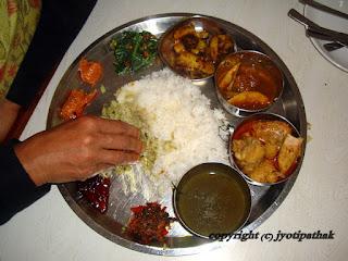 Tukuche Thakali Kitchen Menu
