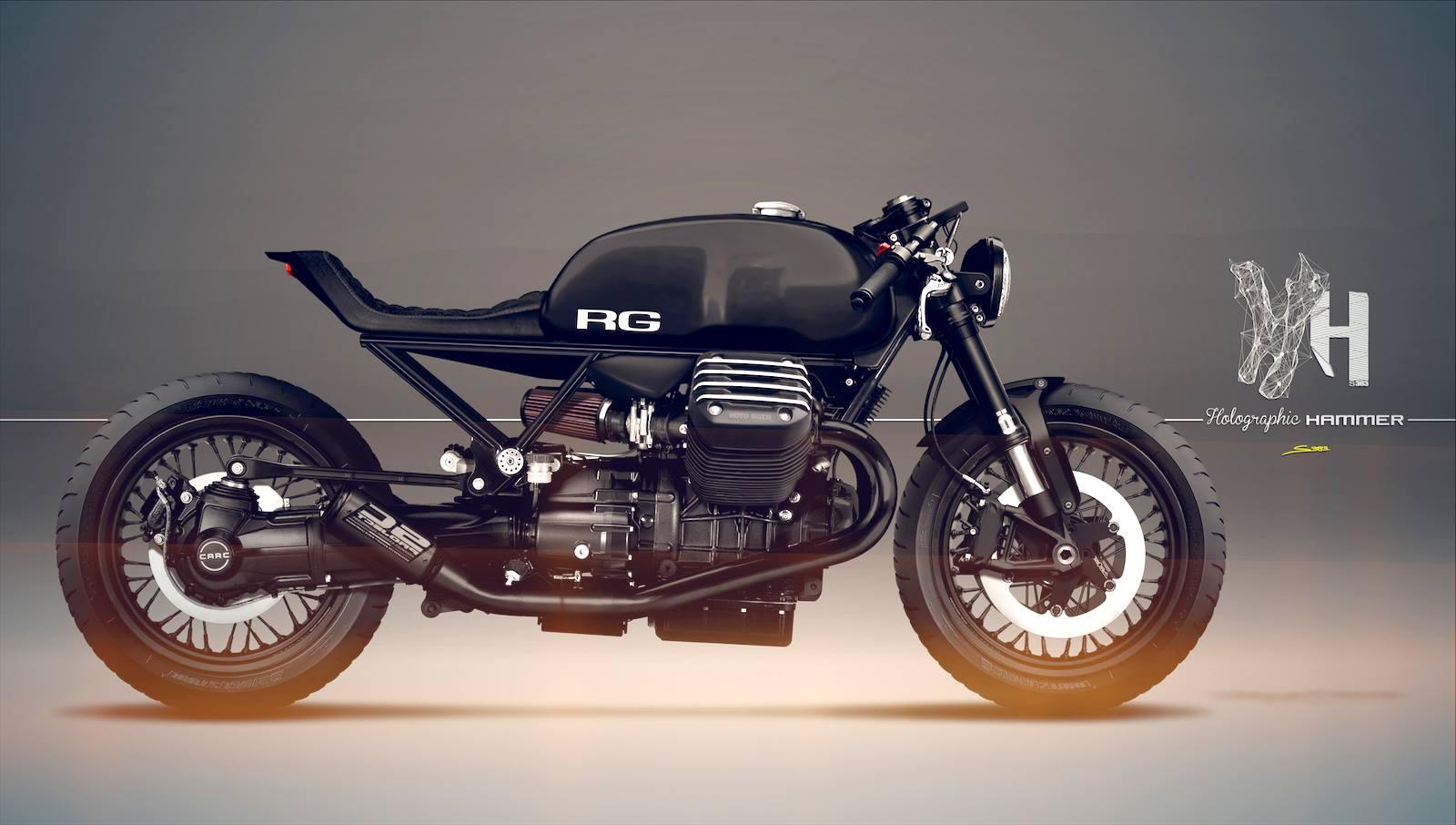 racing caf caf racer concepts moto guzzi caf racer. Black Bedroom Furniture Sets. Home Design Ideas