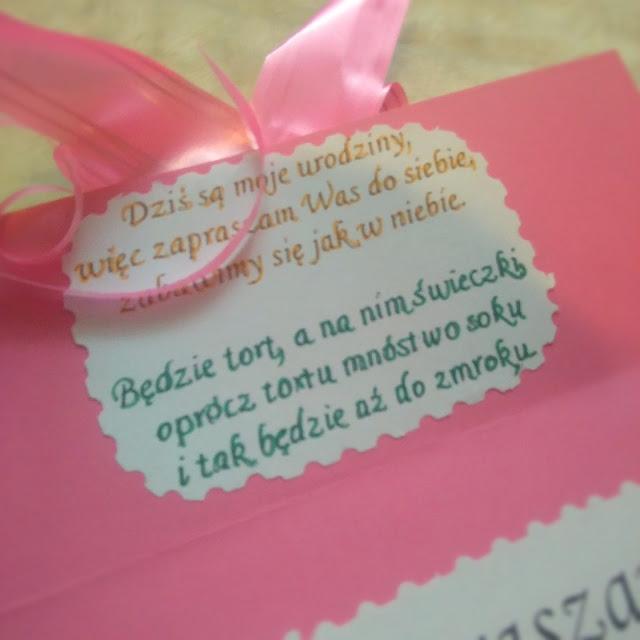 jak zrobićzaproszenie na urodziny, łatwe zaproszeni, urodziny czterolatka, 4 urodziny, prezent, dziecko, dziewczynka
