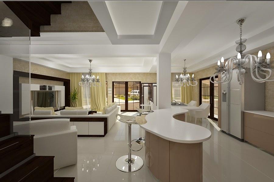 Design interior living casa in Constanta - Amenajari interioare case moderne Constanta