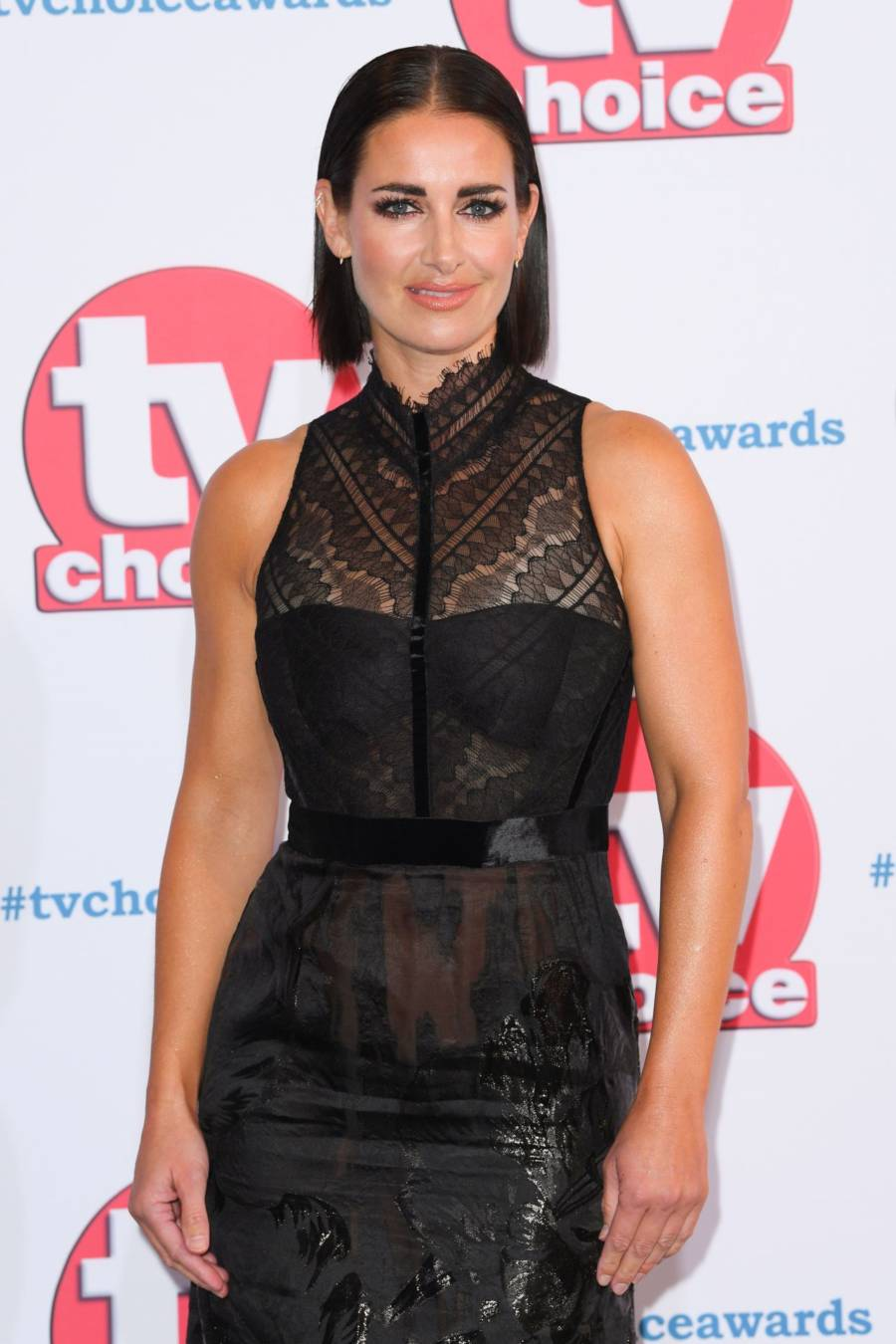 Kirsty Gallacher At TV Choice Awards in London