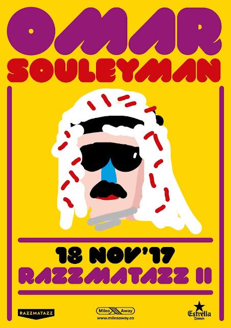 Omar Souleyman, Sala Razzmatazz, Barcelona