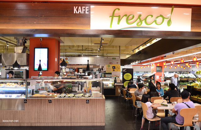 Fresco! Cafe inside Jaya Grocer Empire Shopping Gallery