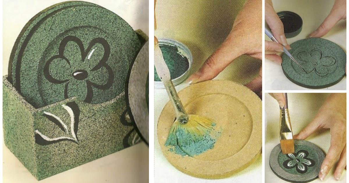 Como hacer unos lindos posavasos lodijoella - Como hacer posavasos ...