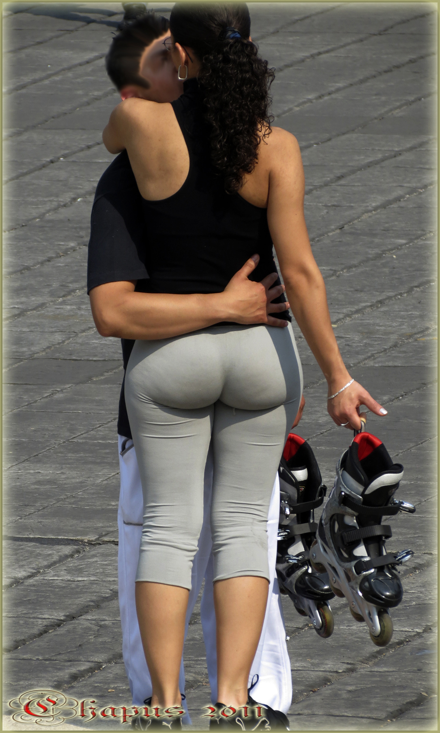 Lycra Perfect Bubble Butt | Divine Butts - Candid Milfs In