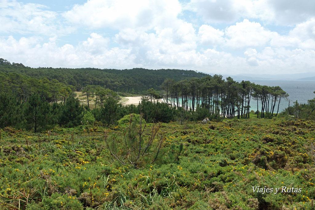 Praia de Melide, Cabo do Home, Pontevedra