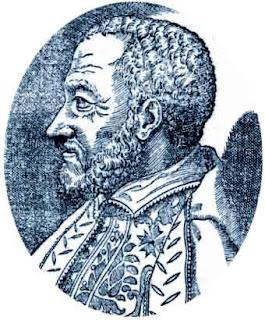 Diego Ortiz. Retrato tomado del Primer libro del Tratado de Glosas