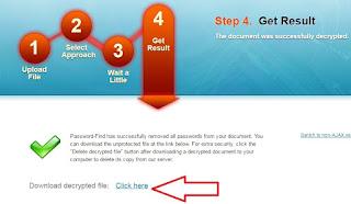 Membuka Password Ms. Excel Secara Online