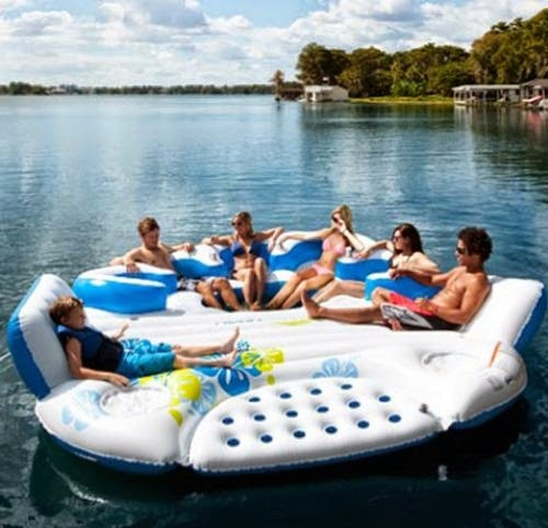 The Floating Sofa Floating Water Furniture 1
