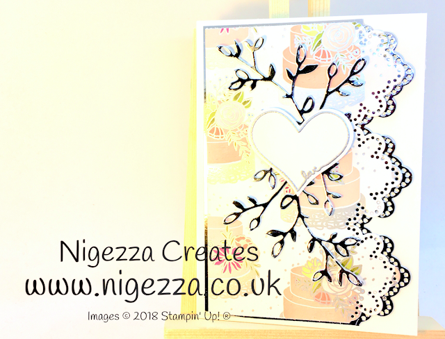 Nigezza Creates InspreINK Blog Hop April Wedding