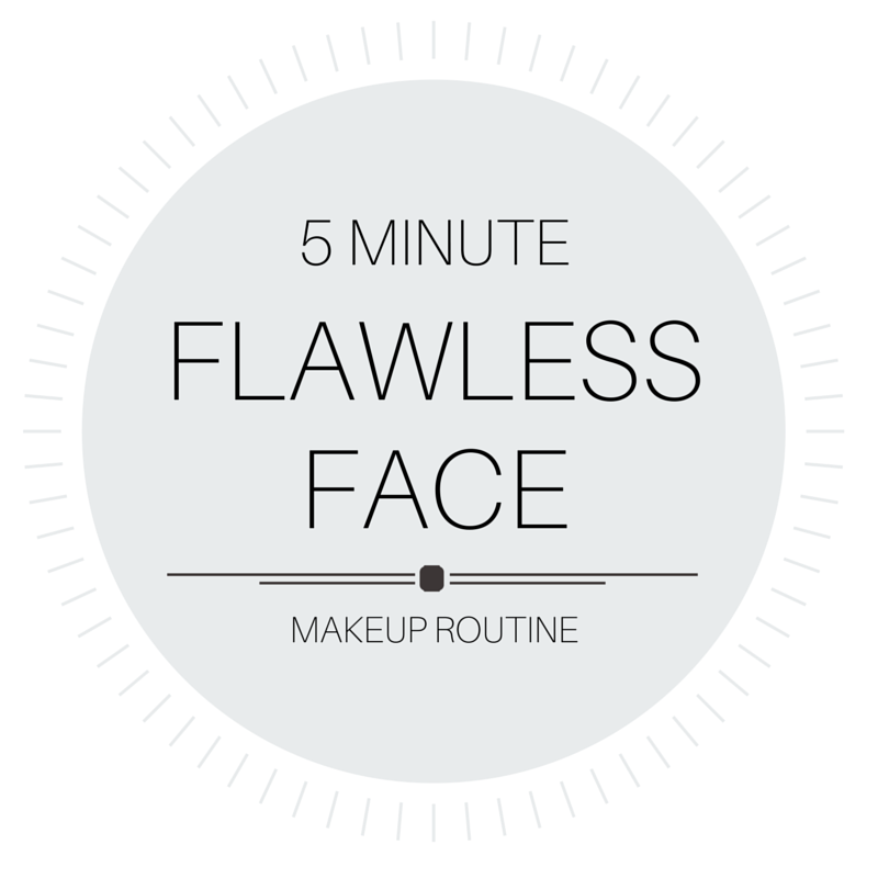 5 Minute Flawless Face Makeup Routine
