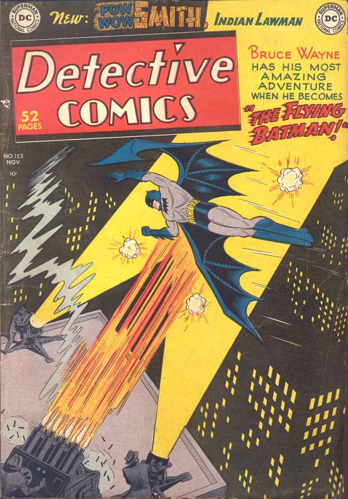Detective Comics (1937) 153 Page 0