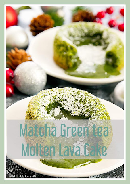 Matcha Green Tea Molten Lava Cake