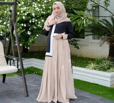 5 Model Long Dress Ibu Hamil Yang Cantik Dan Elegan