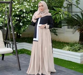 5 Pakaian Untuk Wanita Hamil, Gamis Dan Long Dress Yang Cocok Buat Acara Kondangan