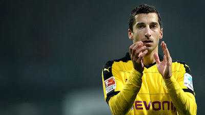 Henrikh Mkhitaryan to Arsenal