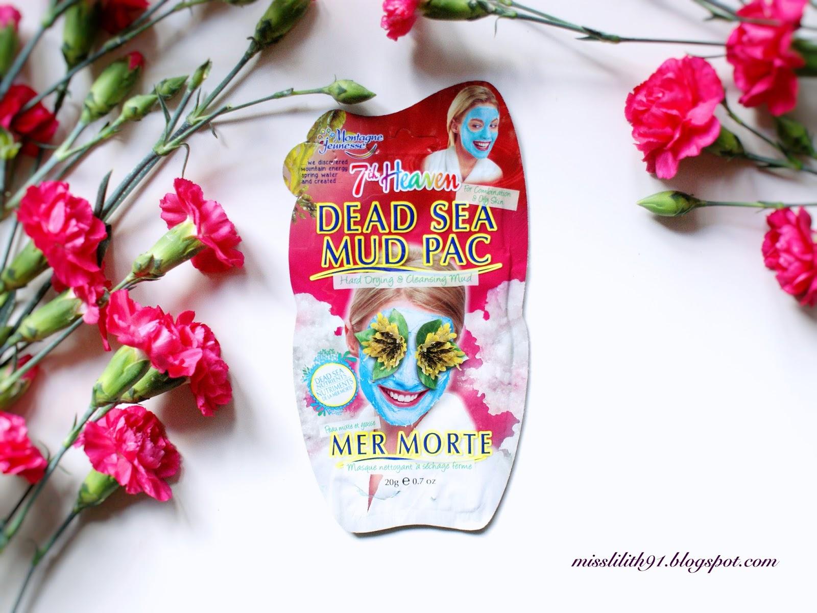 Maseczka z minerałami z morza martwego 7th Heaven