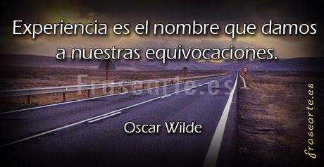 Frases para la vida, Oscar Wilde