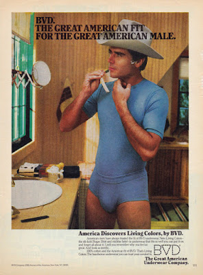 BVD - The great American Fit for the Great American Male