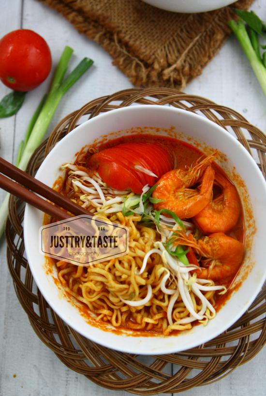 Resep Mie Kari Udang