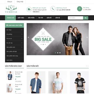 template blogspot shop thời trang