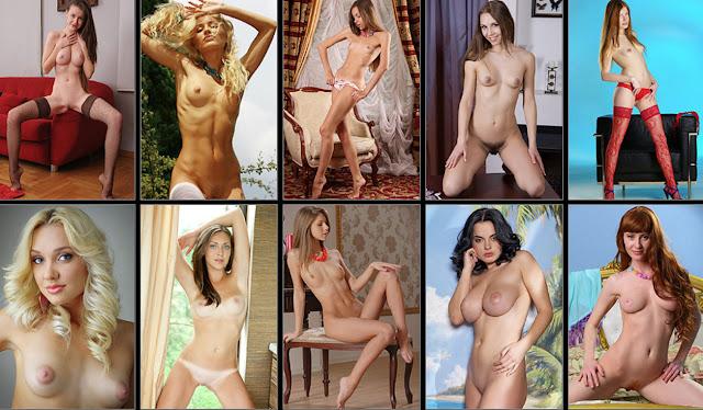 Tiny Teen Cutie: Beautiful Nude Erotica!