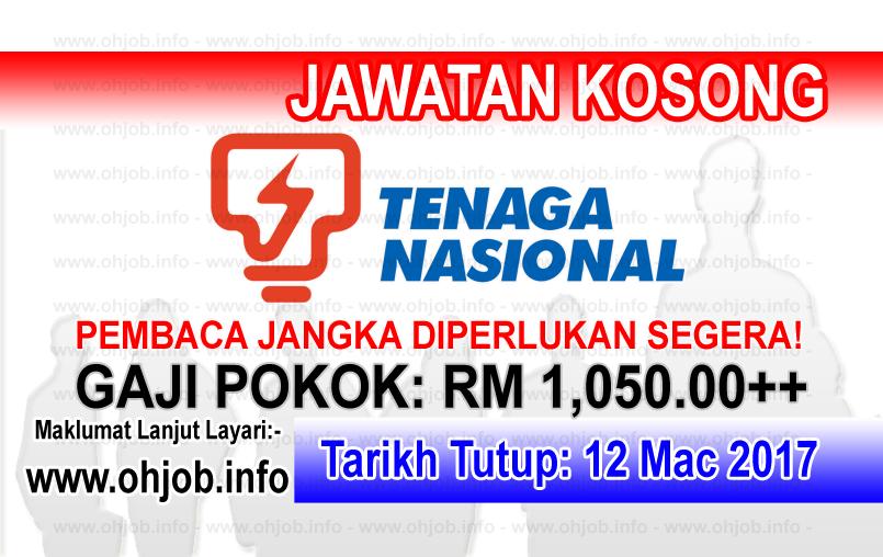 Jawatan Kerja Kosong TNB - Tenaga Nasional Berhad logo www.ohjob.info mac 2017