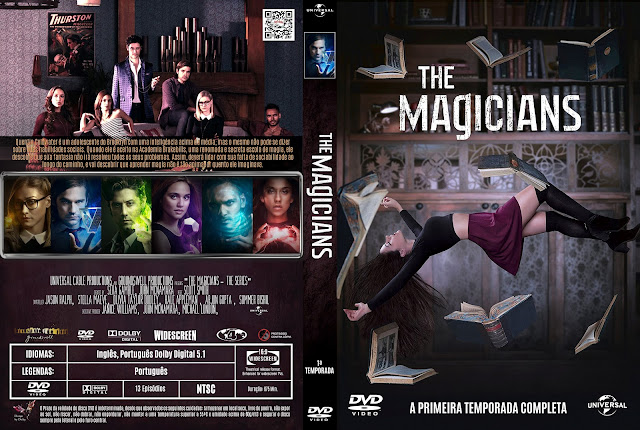 Capa DVD The Magicians Primeira Temporada [Exclusiva]