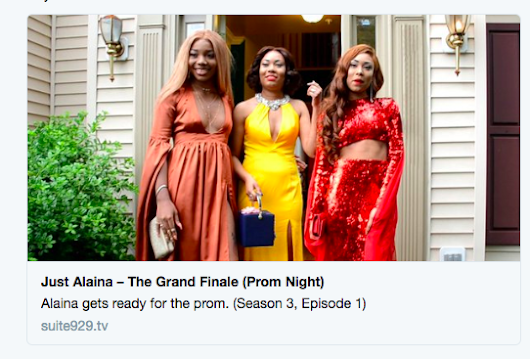 Check Out the Season 3 Premier of Just Alaina – The Grand Finale (Prom Night)