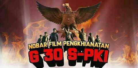 Camat Burau Nobar Film G-30.S.PKI