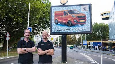 Peugeot Mosaic Billboard
