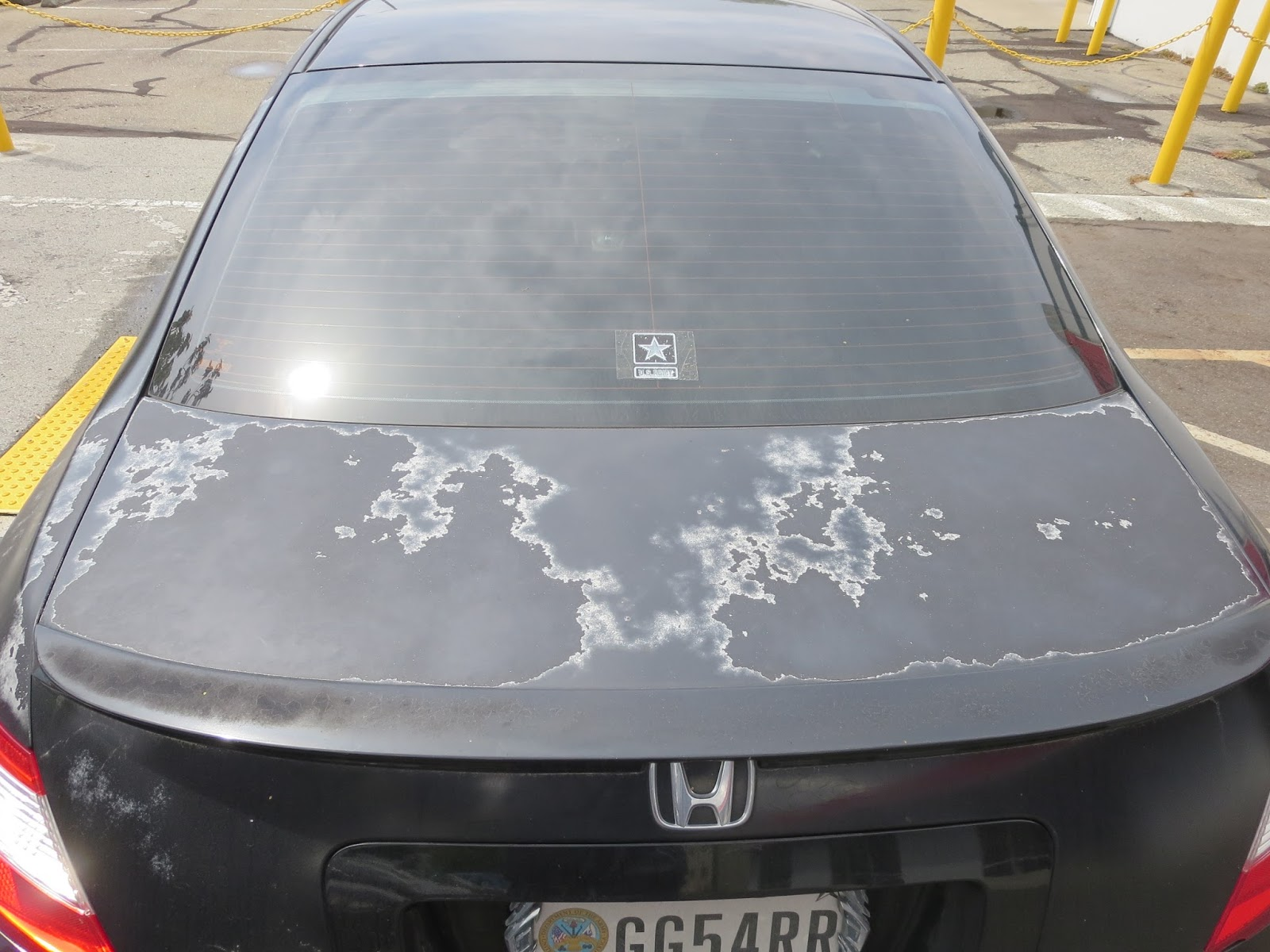 Car Paint Bubbling And Peeling Repair