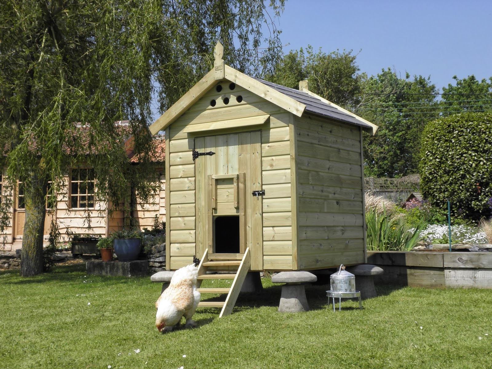 Granary Chicken Coop