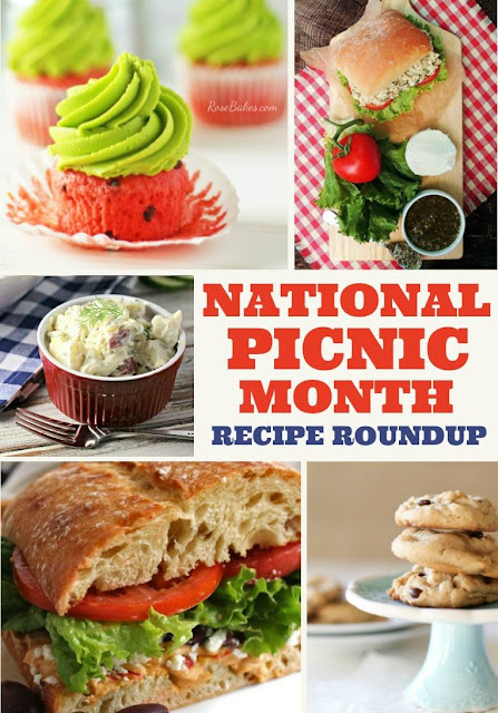 10 Recipes for National Picnic Month