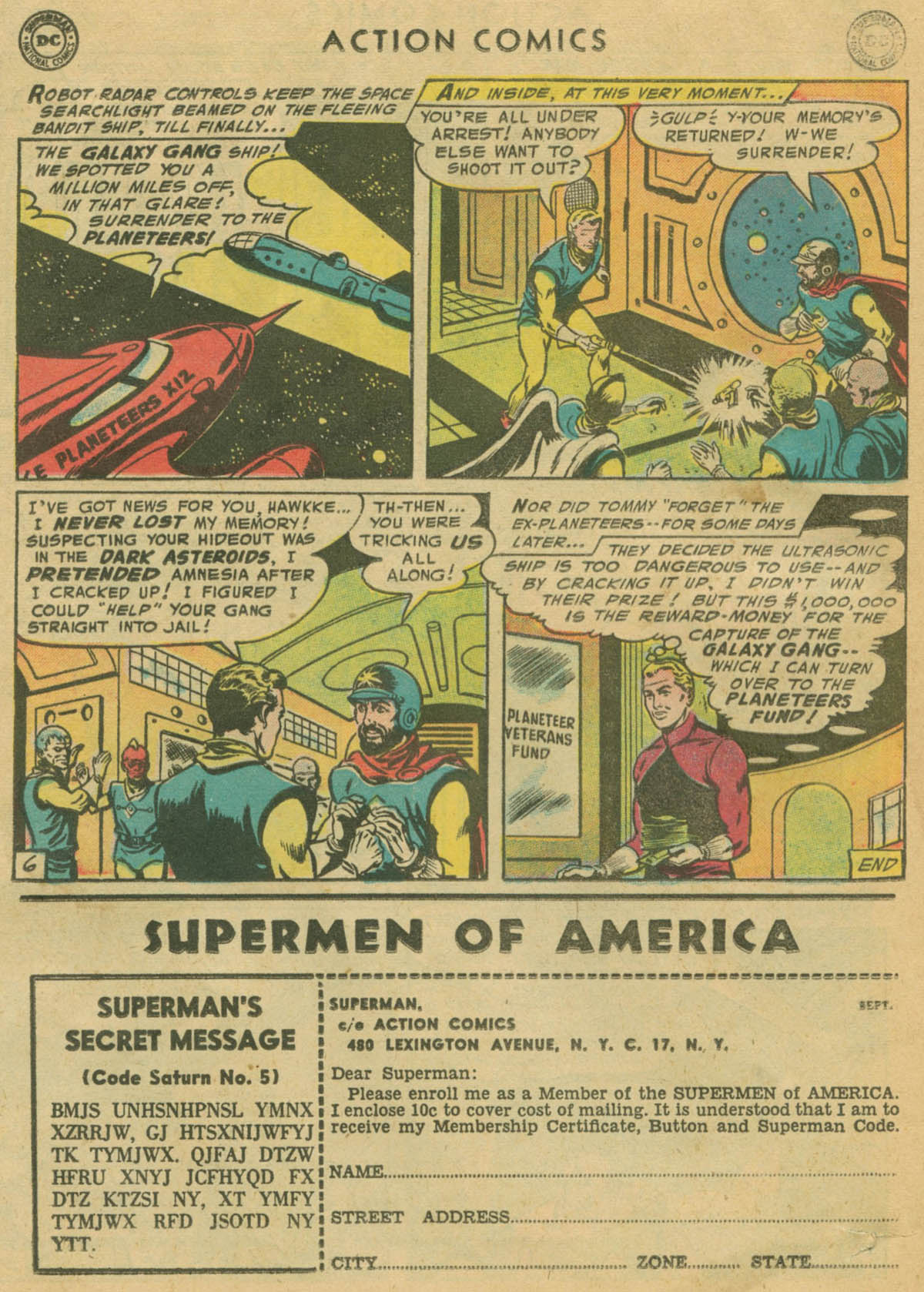 Read online Action Comics (1938) comic -  Issue #208 - 21