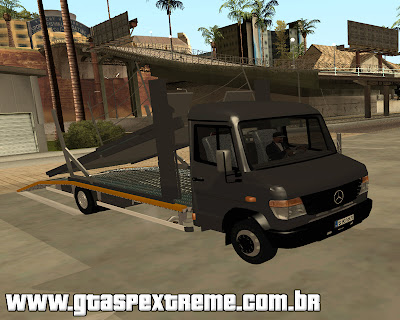 Mercedes-Benz Vario Tractari para grand theft auto