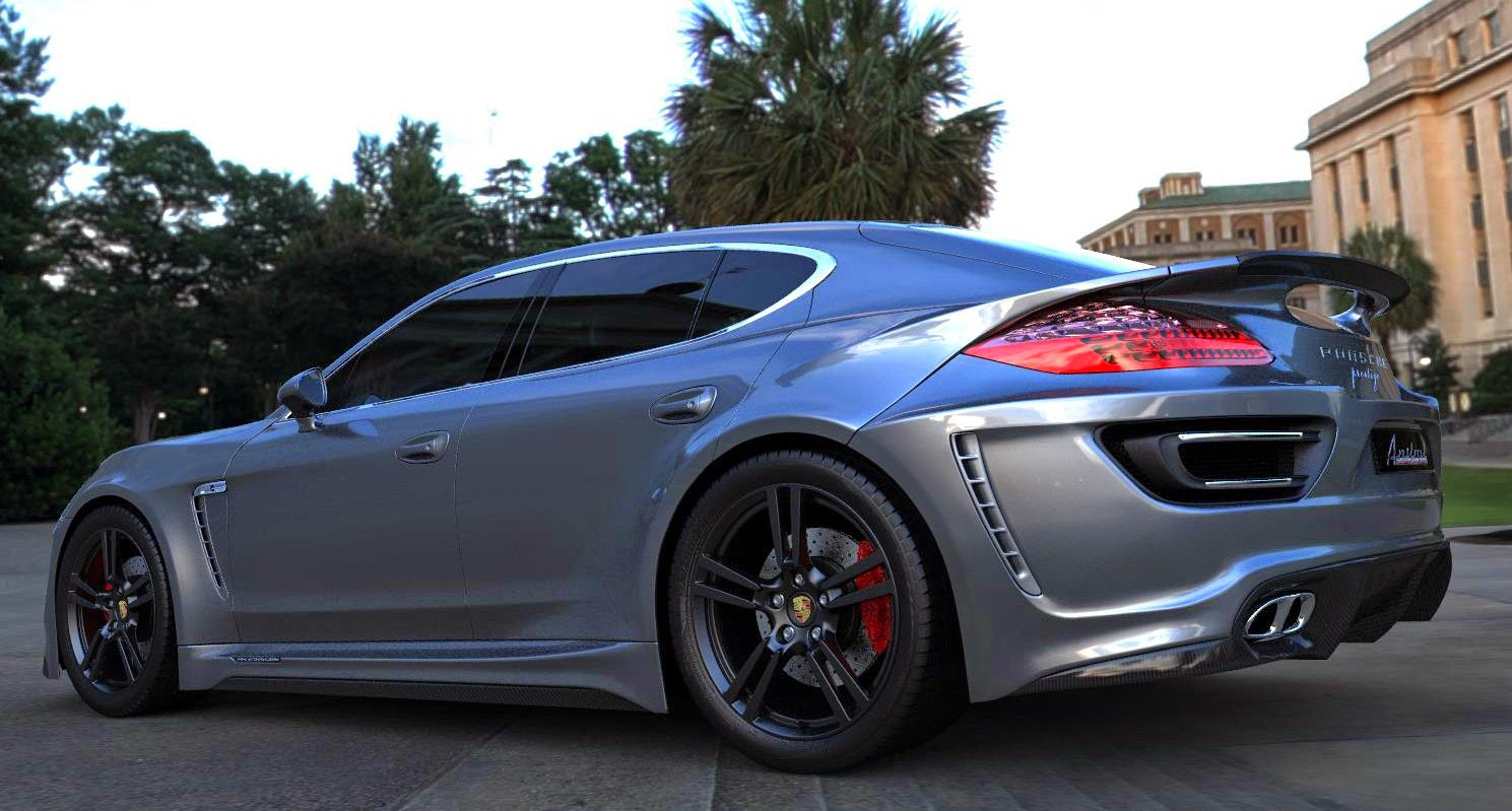Modified Cars Modified Porsche Panamera 680hp