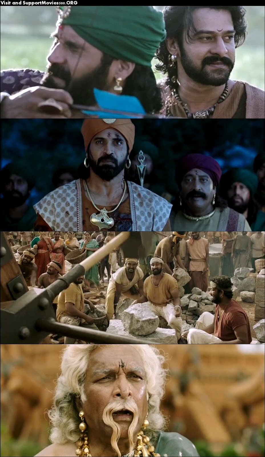Baahubali 2 The Conclusion 2017 Full HD Movie DVD Quality Download at movies500.site