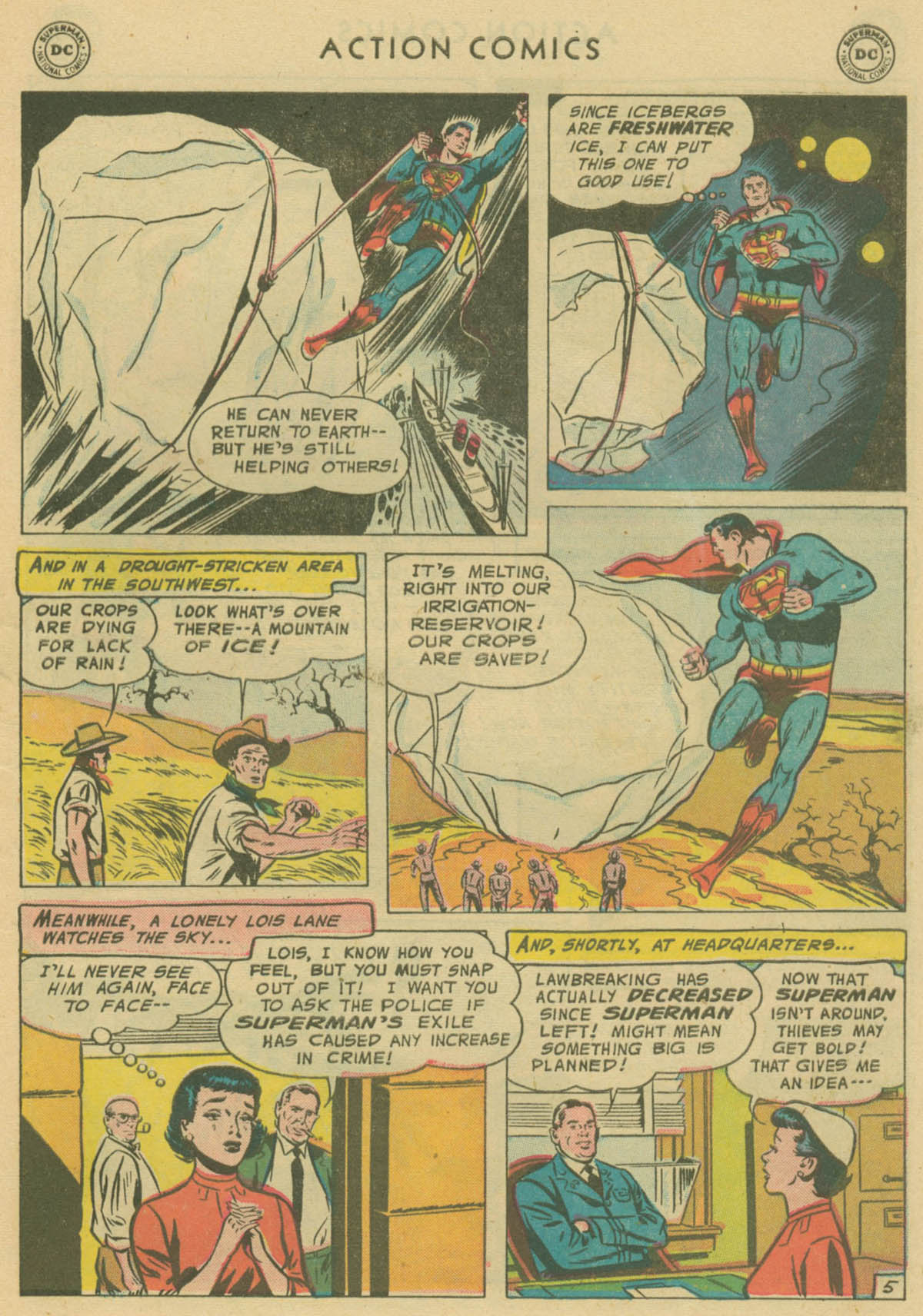 Read online Action Comics (1938) comic -  Issue #229 - 6