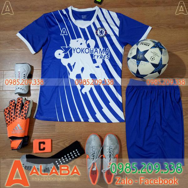Áo CLB Chelsea 2019 Màu Xanh Đậm