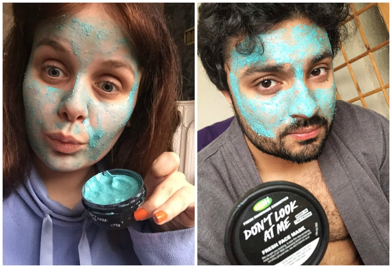 Dont look at me lush face mask review - When I Talked To The Lady At Lush She Said This Was Her Favourite Face Mask And That This Pot Has Seven Uses