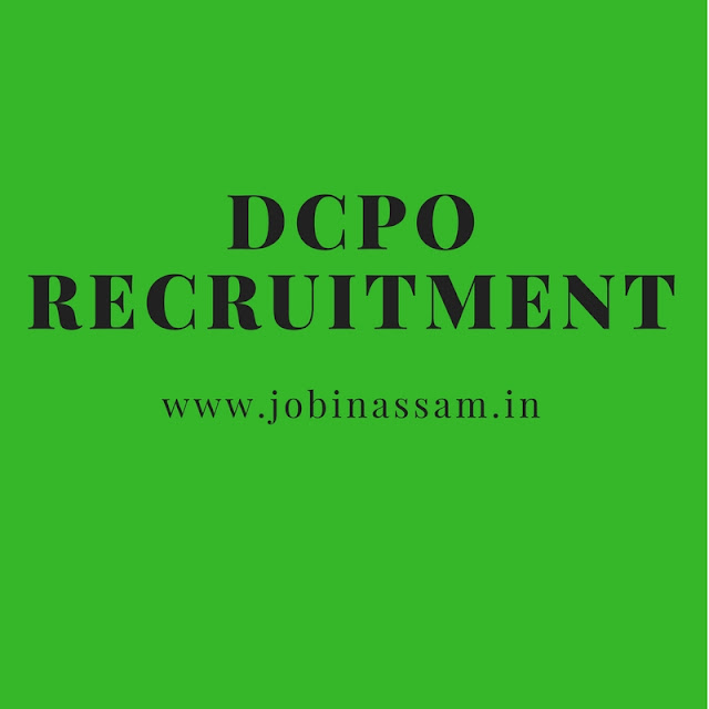 District Child Potection Office Recruitment , Kamrup 2017
