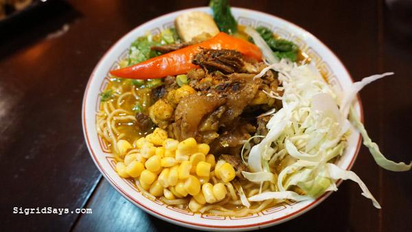 cansi ramen - Bacolod restaurants - Izumi Japanese Restaurant