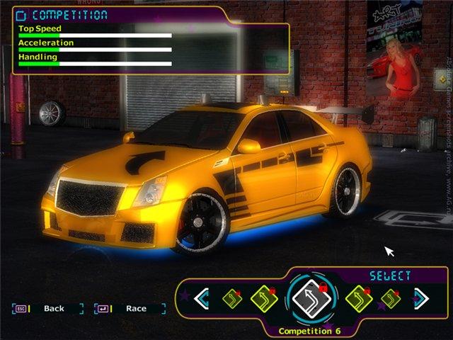 games GameHitZone Street Racing Stars
