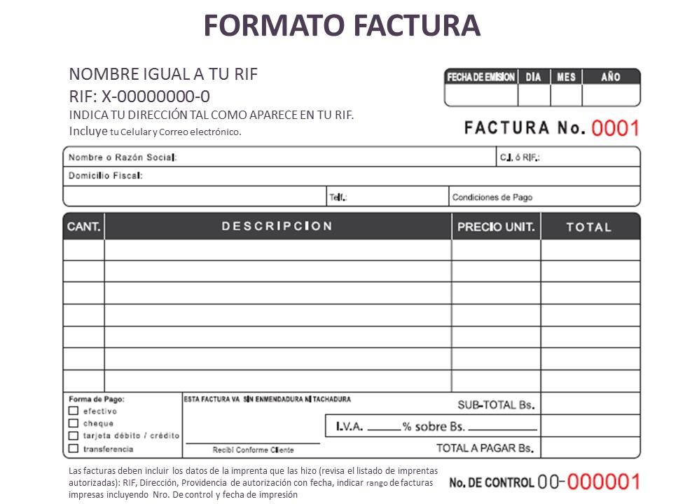 formato de factura de venta para descargar - Onwebioinnovate - formato de factura de venta