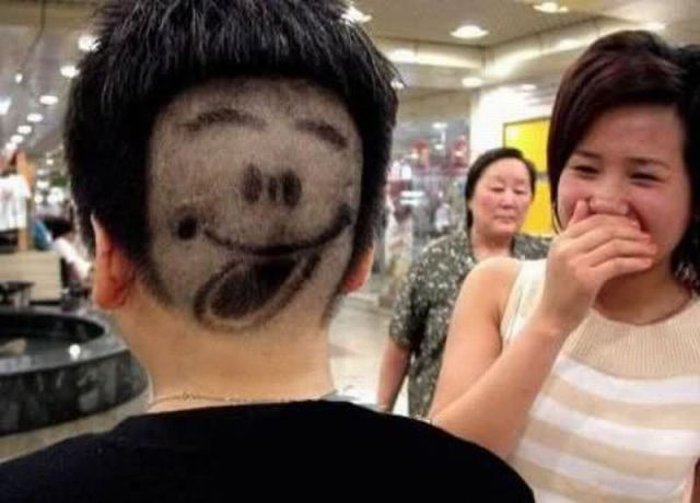 Weird Facial Hair Styles: Funny Pictures: Funny China Real Pictures